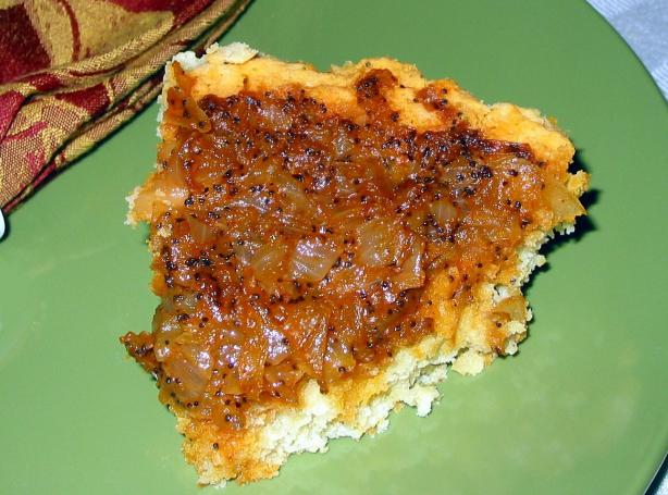 Amish Onion Cake
