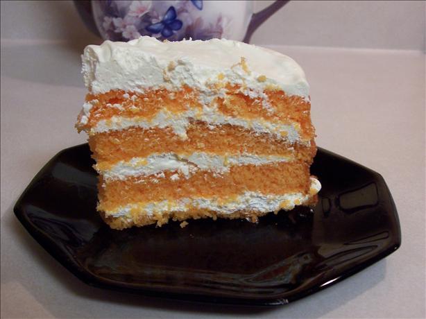 Dreamsicle/Creamsicle Cake