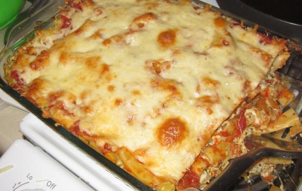 Surprising Baked Ziti