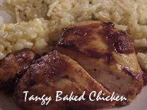 Tangy Baked Chicken