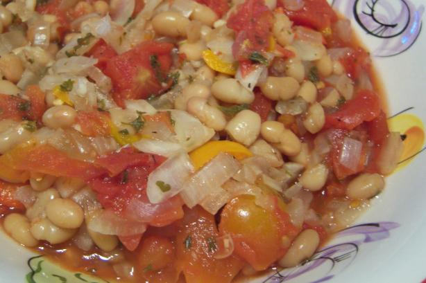 Basque Beans (Including Crock Pot Version)