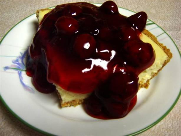 Easy Cherry Cheesecake