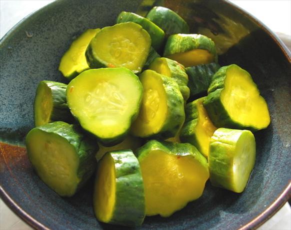 saffron pickles