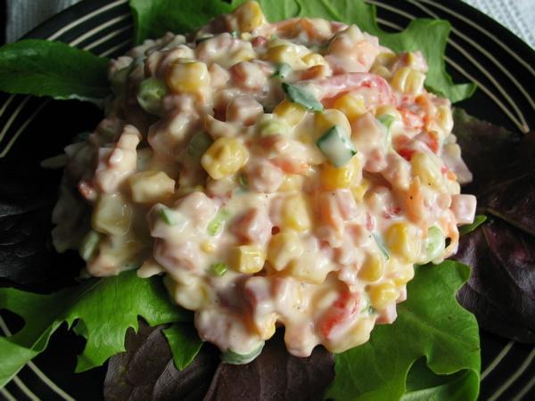 Ham and Corn Salad