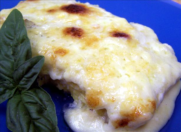 Polenta Gratin With Gorgonzola Cheese