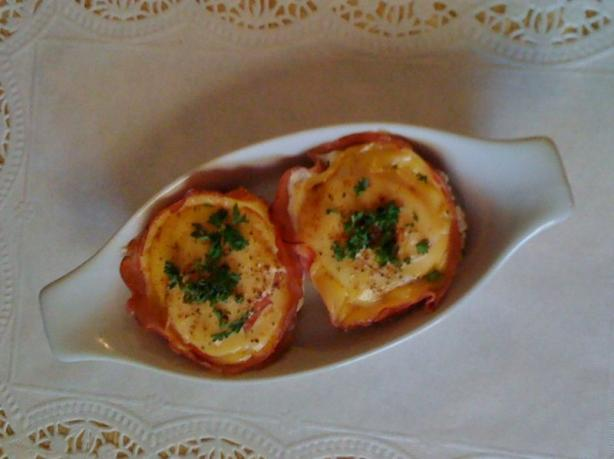 Ham and Egg in a Muffin Tin
