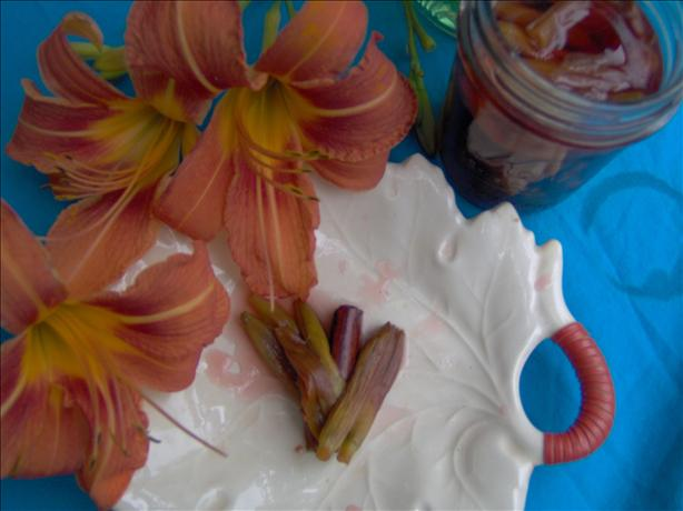 Daylilly Buds, Spiced and Pickled