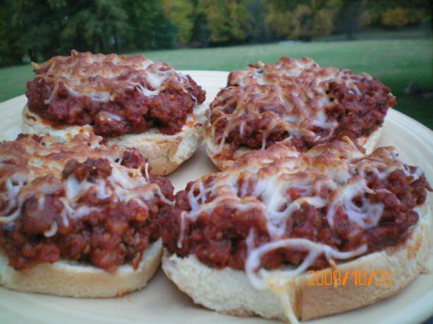 Sausage Pizza Muffins