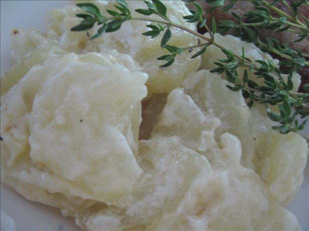 Scalloped Potatoes with Cream
