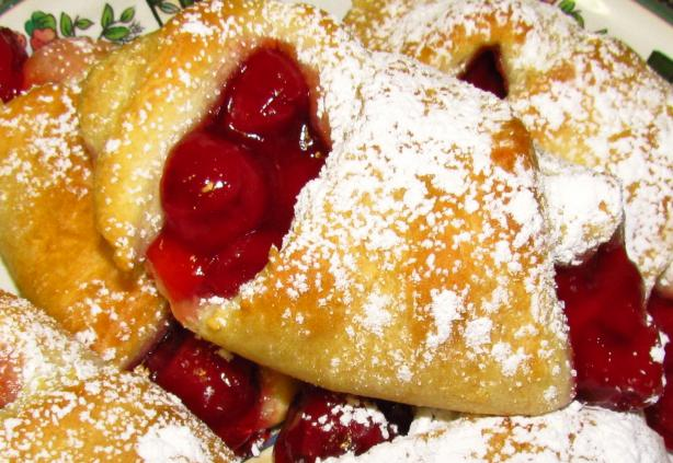 Cherry Filled Crescent Rolls