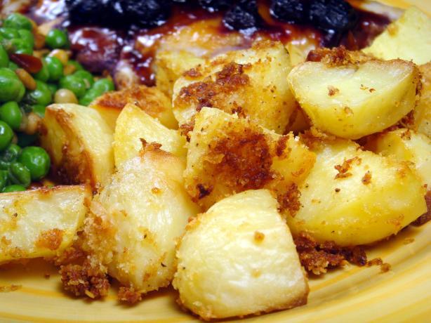 Baked Garlic Parmesan Potatoes