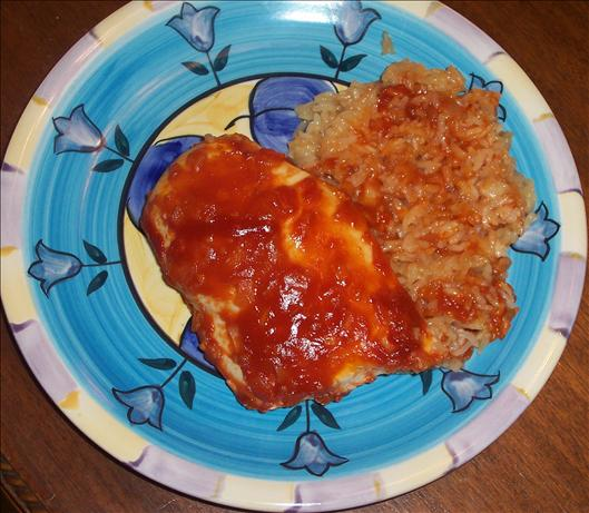 BBQ Chicken and Rice