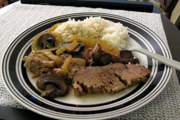 Crock Pot Chuck Roast with Coffee