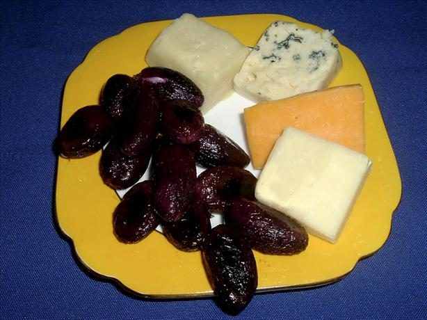 Roasted Grapes for Cheese Platter