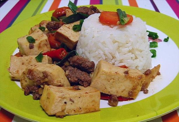 Hot and Spicy Tofu and Beef