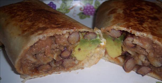 Grilled Burritos