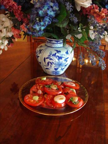 Marinated Tomatoes With Onions
