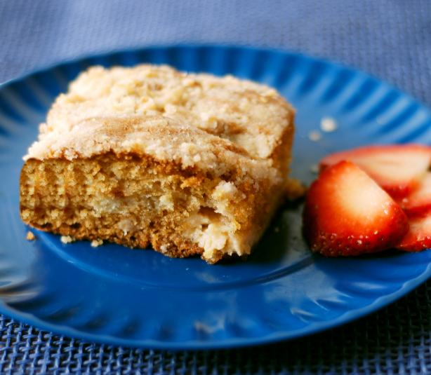 Fantastic Buttery Cream Cheese Coffee Cake