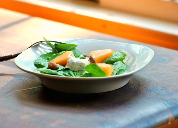 Spinach and Roquefort Salad