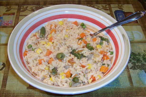 Lemon Veggie Rice