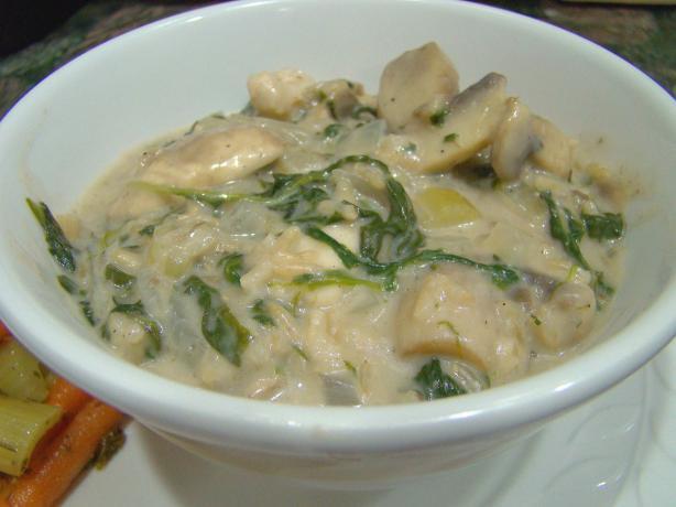 Easy Chicken and Mushroom Casserole