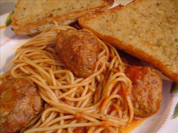 Meatballs for Spaghetti or Sandwiches