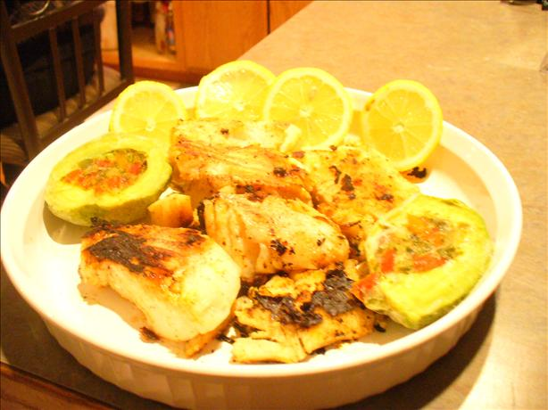 Glazed Grilled Fish