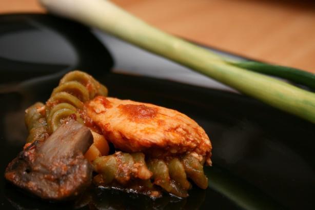 Succulent Chicken Cacciatore (Crock Pot)