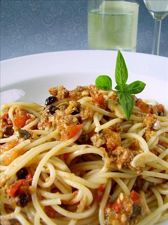 Pasta With Sardine Sauce (Pasta Con Sardine Siciliano)