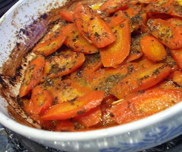 Oregano Carrots