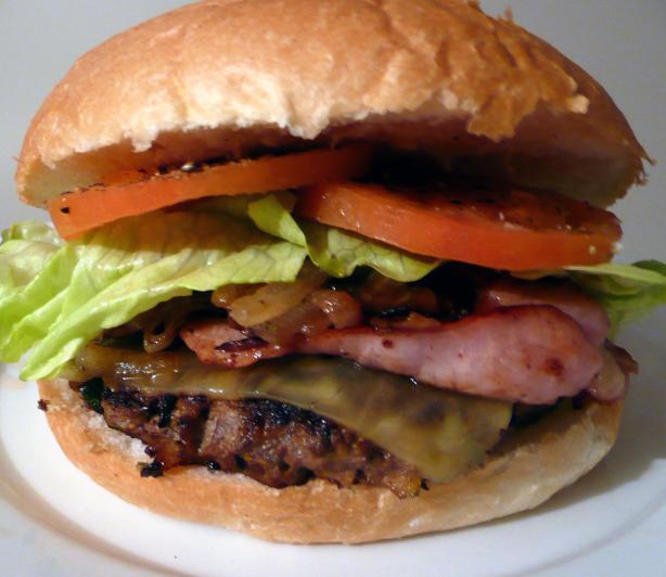 Zucchini Burgers (no, not vegetarian)