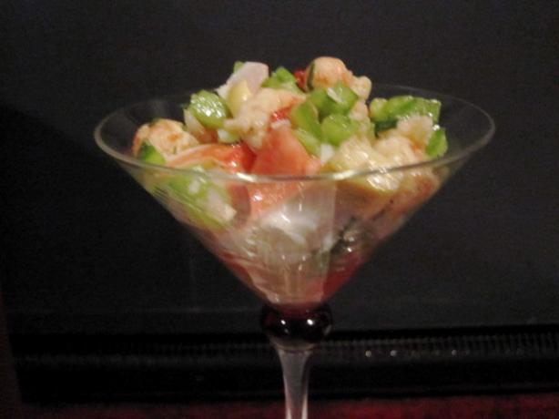 Antipasto Seafood Salad