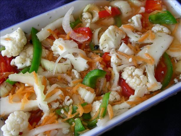 Giardiniera, Sweet And/Or Hot (Pickled Vegetables)