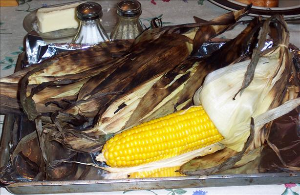 Rustic Grilled Corn
