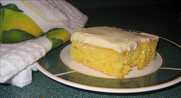 Lemon Sheet Cake