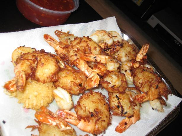 Hawaiian Coconut Shrimp