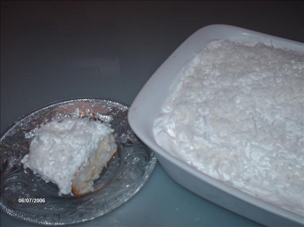 Coconut Refrigerator Cake