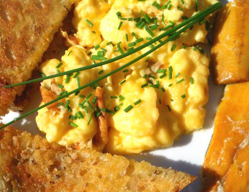 Velvet Scrambled Eggs