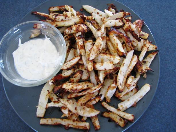 "Peppery Turnip ""Fries"""