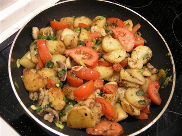 Potato & Mushroom Skillet