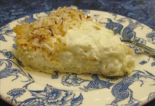 Coconut Tapioca Pie