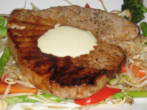 grilled glazed tuna