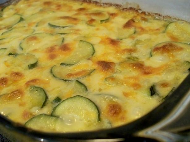 Alice's Zucchini Cheese Casserole