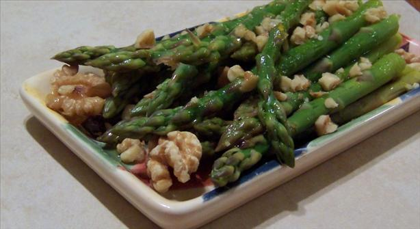 orange nut asparagus