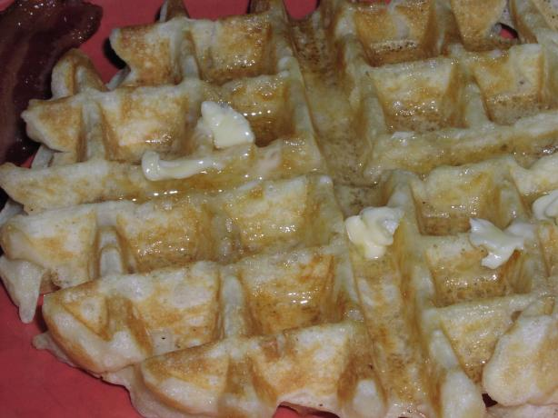 The Bestest Belgian Waffles