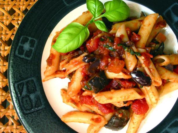 Pasta With Eggplant (Aubergine)