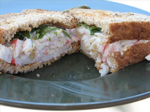 Imitation Crabmeat Sandwich