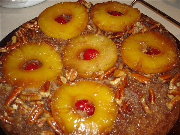 Spiced Pineapple Upside Down Cake