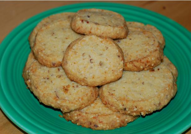 Sesame Coconut Cookies