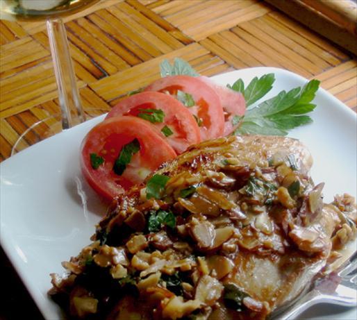 Chicken Breast Amandine